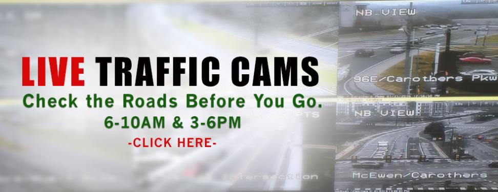 TRAFFIC CAMS UPDATE