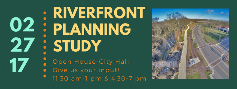 Riverfront study banner