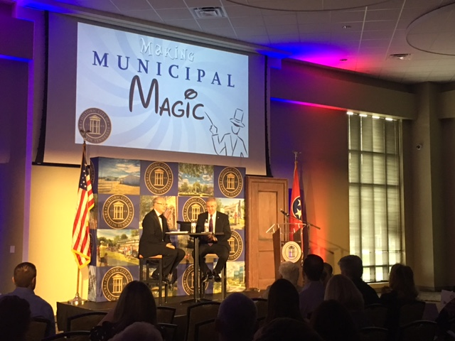 Magic State of the City