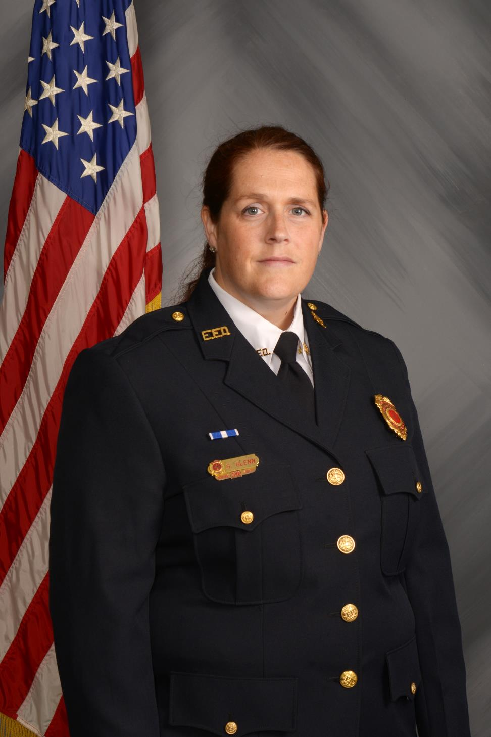 EMS Officer Sarah Glenn