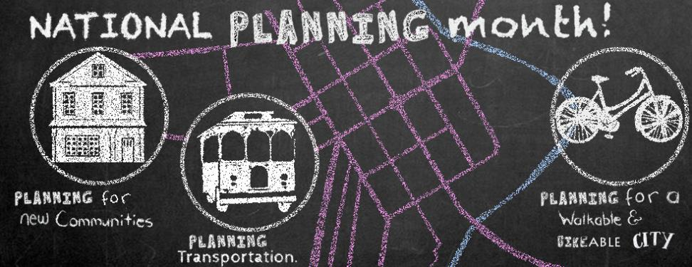 National Planning Month Banner1
