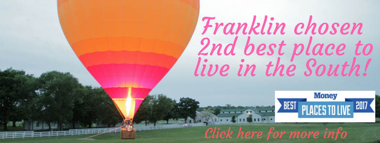 Franklin voted best places to Live photo of Harlinsdale Park and Hot Air Balloon