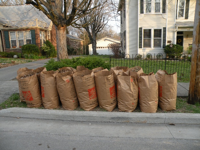 North Carolina State Law Requires That Yard Waste Is Separated From Trash And Recycling Collected Weekly On Your Regular Garbage Collection
