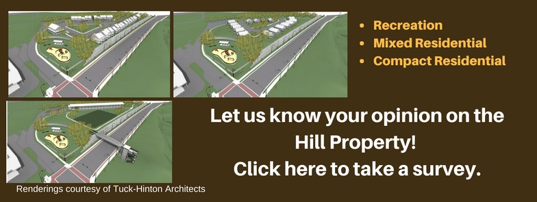 Take a survey on the Hill Property here