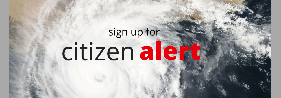 sign up for citizen alert