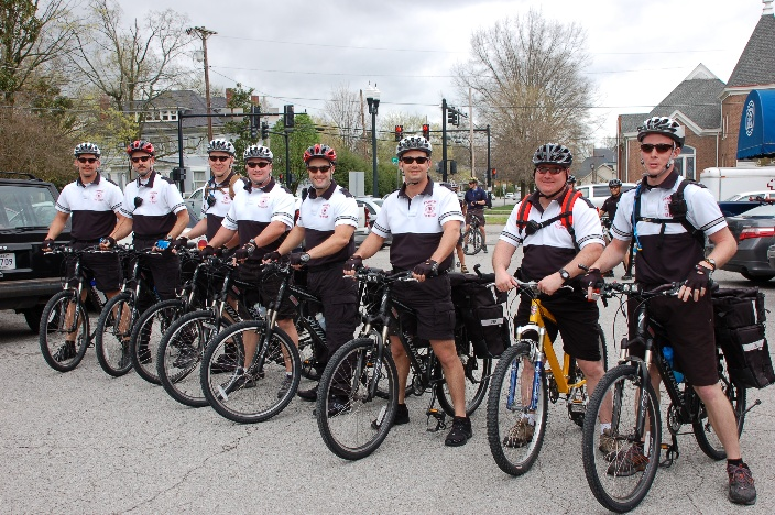 Bike Medic Team group photo