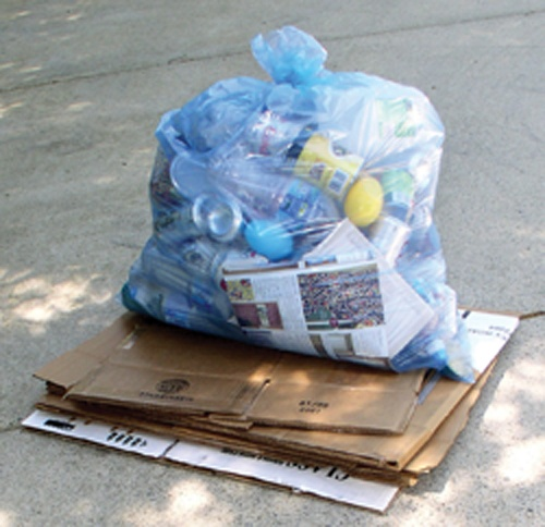 Blue Bags are collected on your normal collection day . Please have ...