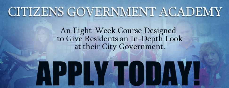 Citizens Government Academy