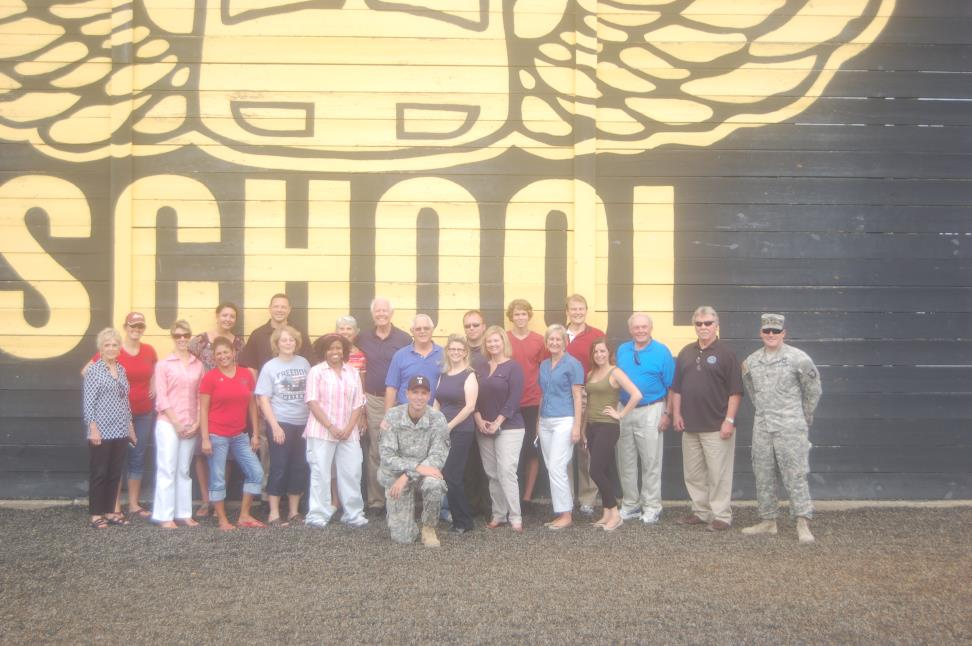 P38 Visit to Fort Campbell