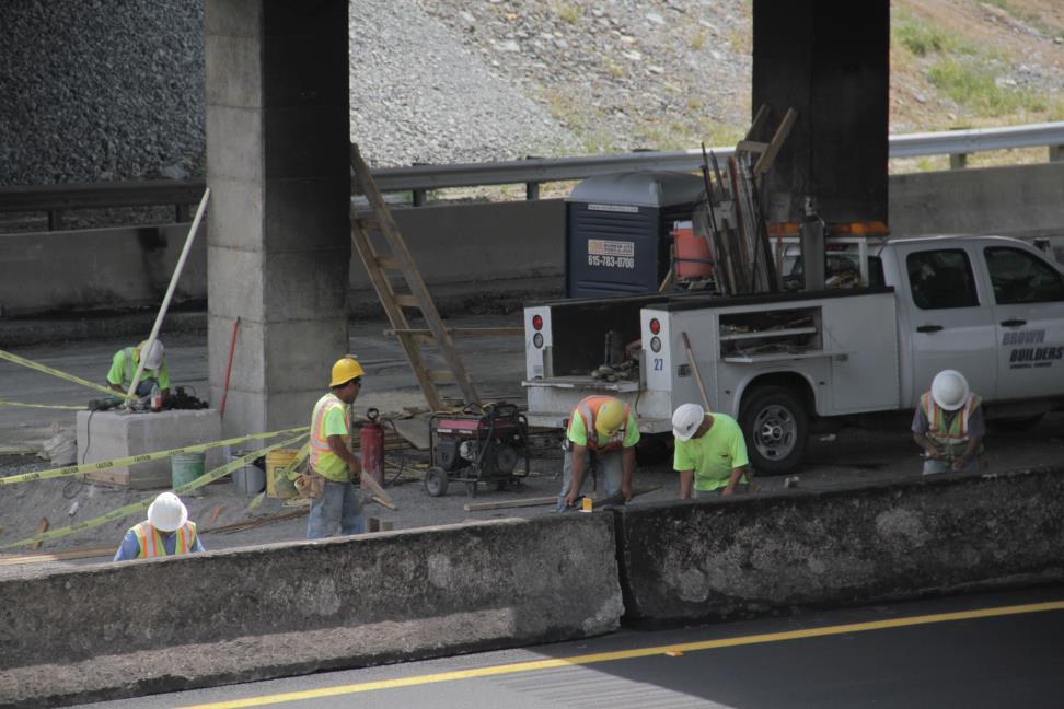 construction, petytonsville bridge