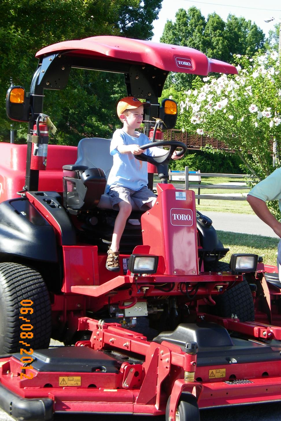 Touch A Truck Batwing mower