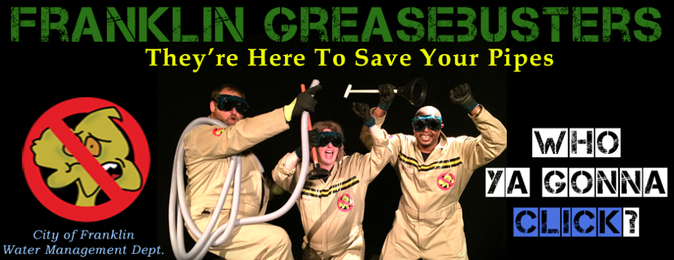 Greasebusters Web Rotating Ad