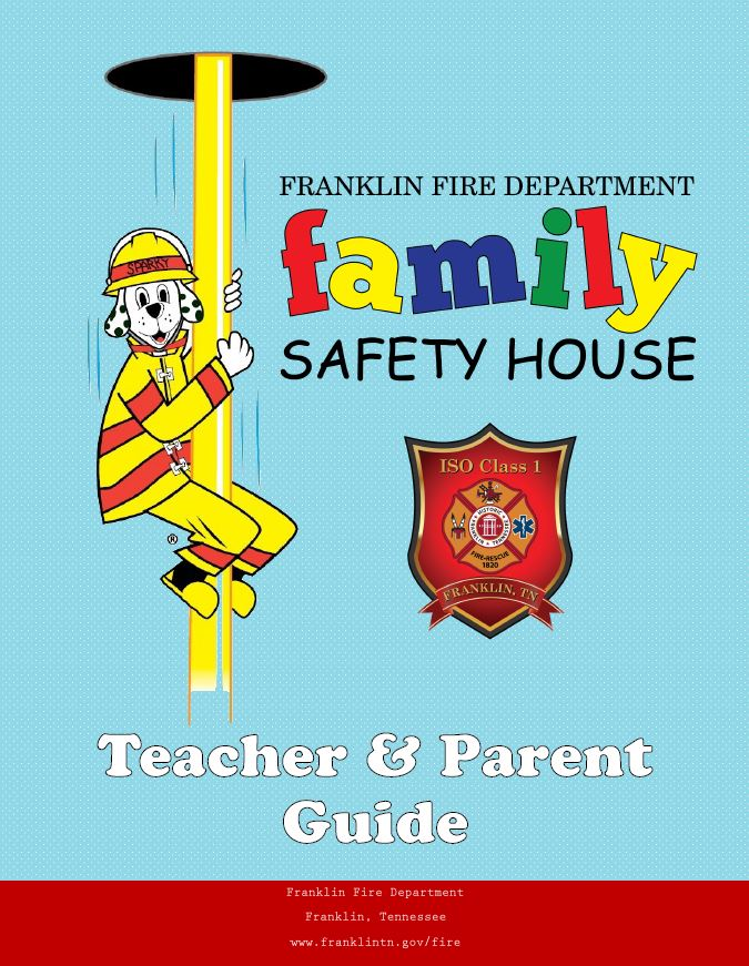 Family Safety House 2016 Teacher & Parent Guide