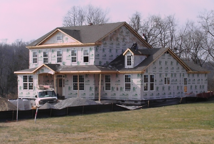 rough stage residential construction