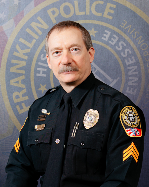 Franklin Police Sergeant to be celebrated for nearly 29 years of service