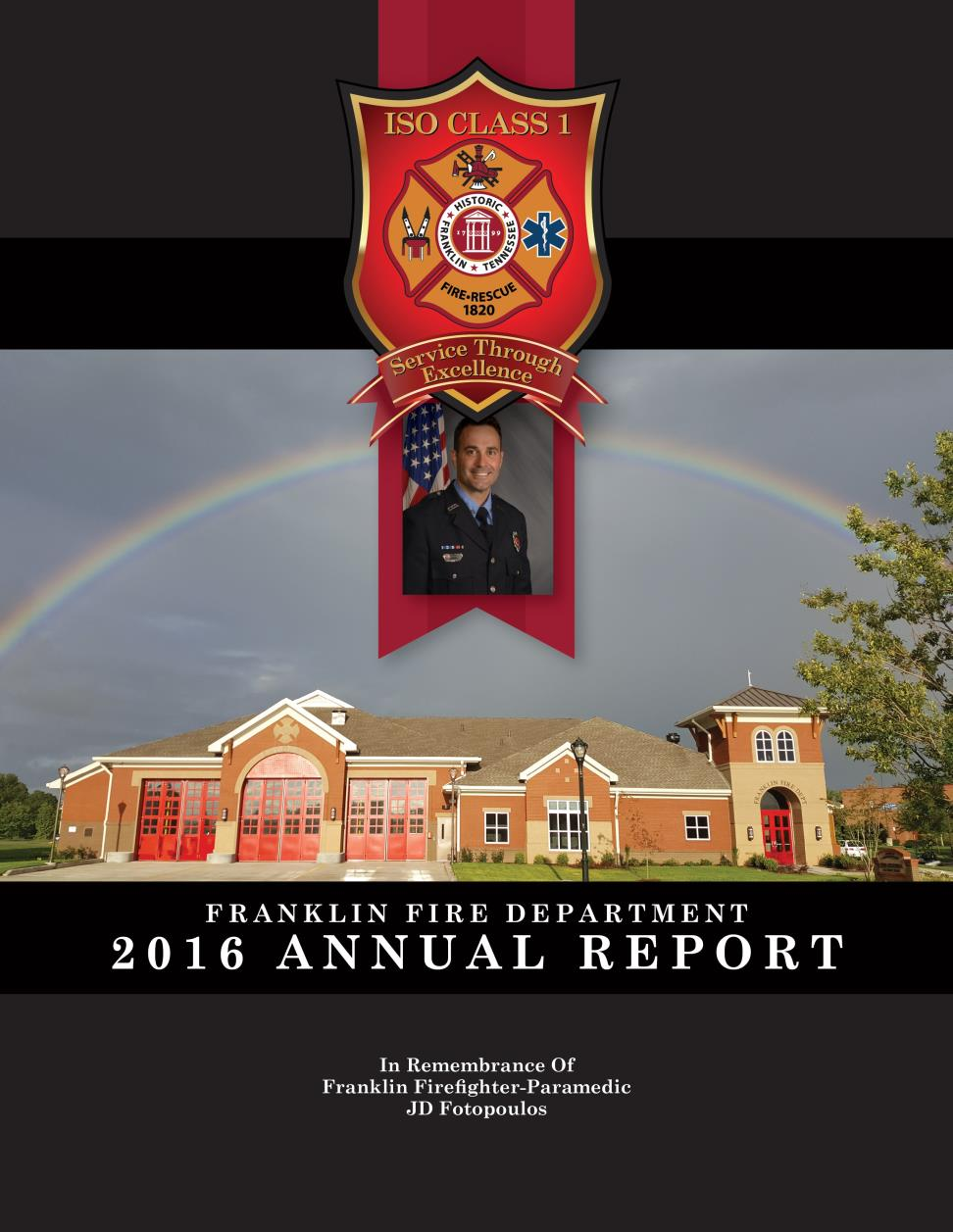 2016 Franklin Fire Department Annual Report