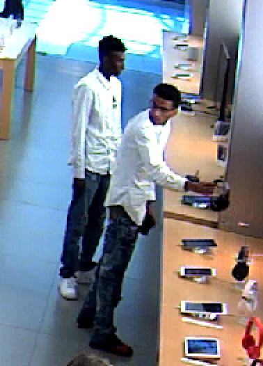 Crime Stoppers Cash Offered For Info On Apple Store Shoplifters