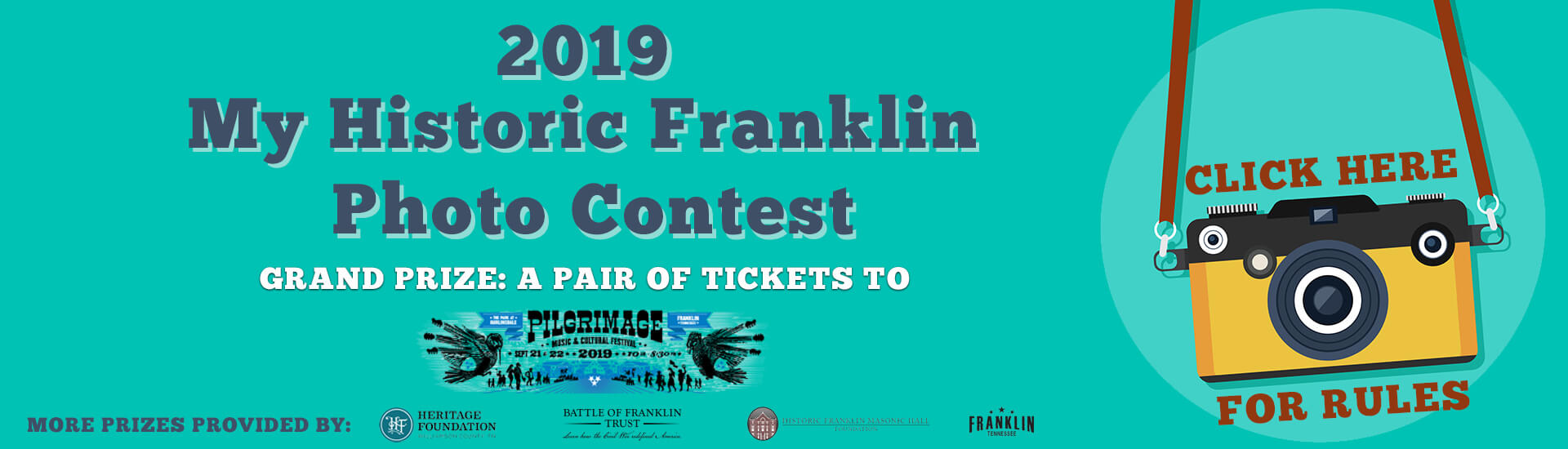 My HIstoric Franklin Photo Contest 2019