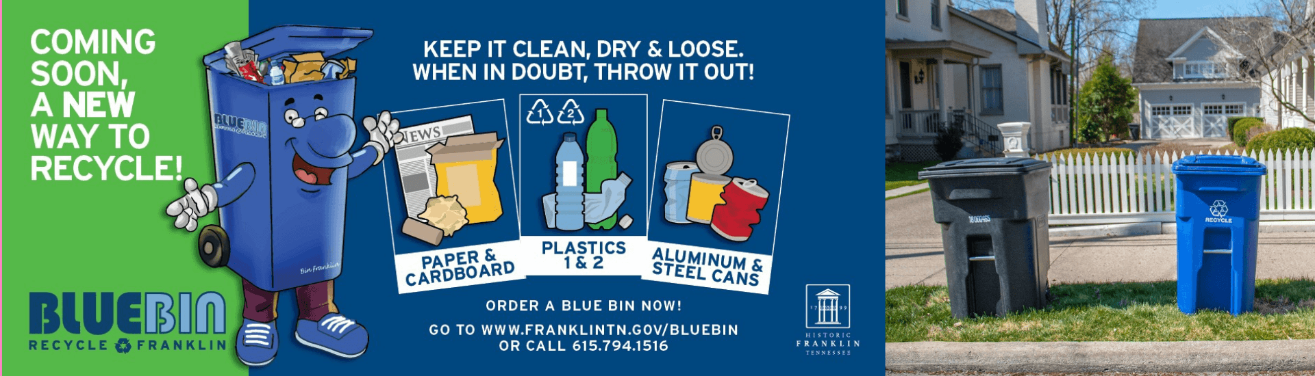 Register for Blue Bin Now