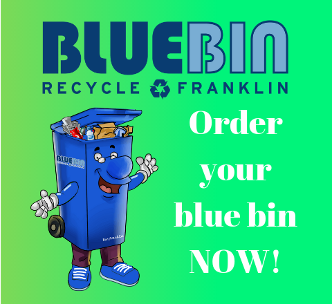 Franklin Opens Online Registration for Blue Bin Recycling