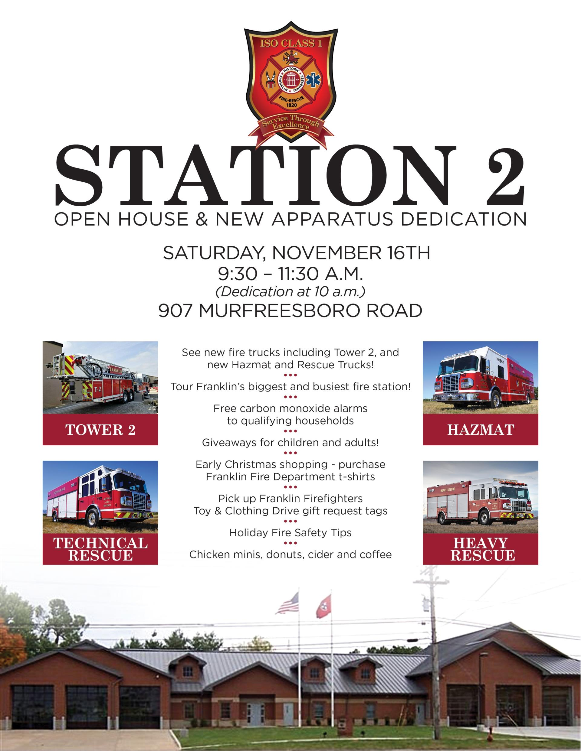 Station 2 Open House