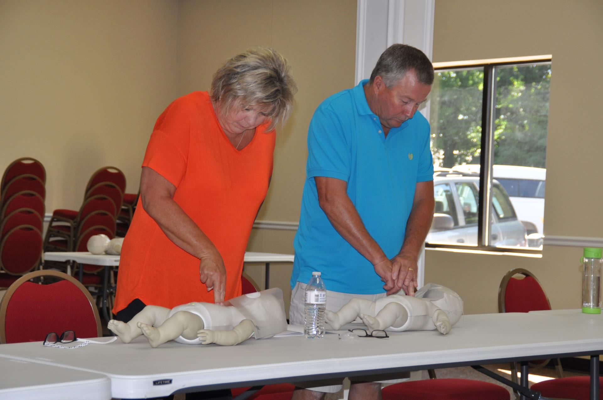 Franklin Fire Offers FREE CPR Classes