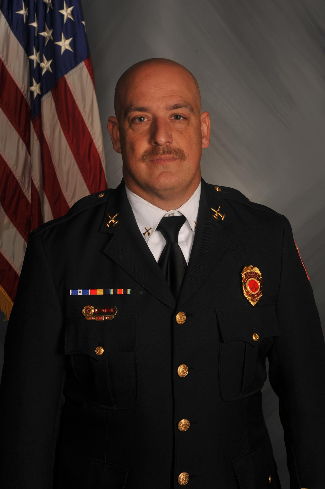 Battalion Chief Michael Pardue