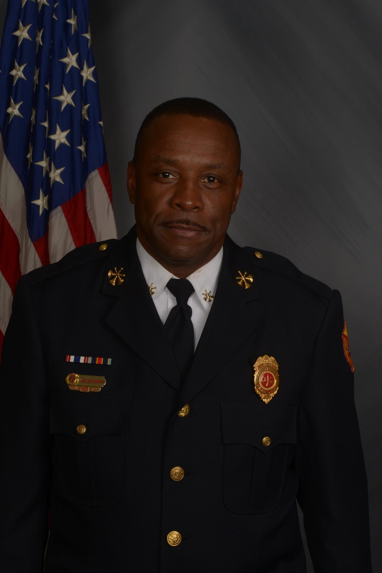 Battalion Chief Greg Baltimore