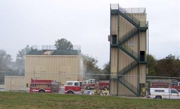 Franklin Fire Training Center Burn Tower